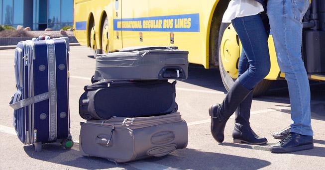 Перевозка багажа в автобусах ECOLINES