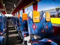 Интерьер в автобусе ECOLINES