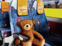 Пассажир в автобусе ECOLINES :)