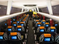 Мультимедийные устройства в автобусе Ecolines