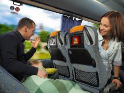 Мультимедийные устройства в автобусах ECOLINES