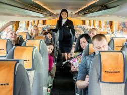 Интерьер в автобусах ECOLINES